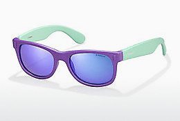 solbrille Polaroid Kids P0115 RHD/MF - Purpur
