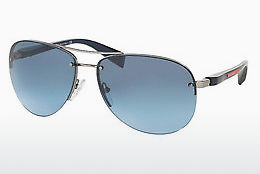 solbrille Prada Sport PS 56MS (65) (PS 56MS 5AS5I1) - Sølv, Grå