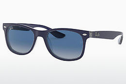 solbrille Ray-Ban Junior Junior New Wayfarer (RJ9052S 70234L) - Blå, Transparent