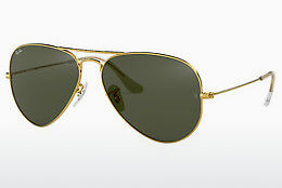 solbrille Ray-Ban AVIATOR LARGE METAL (RB3025 L0205) - Gull