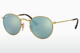 solbrille Ray-Ban ROUND METAL (RB3447N 001/30) - Gull