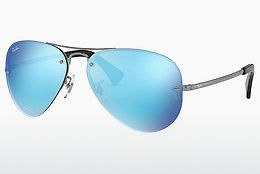 solbrille Ray-Ban RB3449 004/55 - Grå