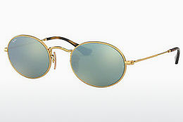 solbrille Ray-Ban Oval (RB3547N 001/30) - Gull