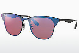 solbrille Ray-Ban Blaze Clubmaster (RB3576N 153/7V) - Purpur, Sort