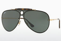 solbrille Ray-Ban Blaze Shooter (RB3581N 001/71) - Gull