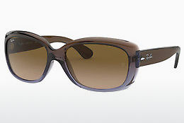 solbrille Ray-Ban JACKIE OHH (RB4101 860/51) - Brun, Purpur