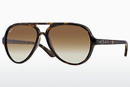 solbrille Ray-Ban CATS 5000 (RB4125 710/51) - Brun, Havanna