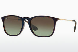 solbrille Ray-Ban CHRIS (RB4187 6315E8) - Transparent, Brun, Blå
