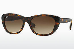 solbrille Ray-Ban RB4227 710/13 - Brun, Havanna