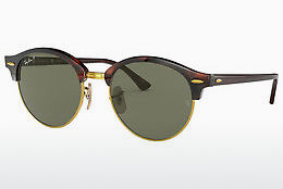solbrille Ray-Ban CLUBROUND (RB4246 990/58) - Brun, Havanna