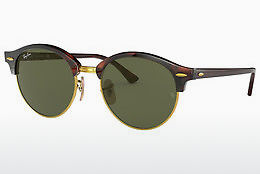 solbrille Ray-Ban Clubround (RB4246 990) - Brun, Havanna