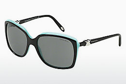solbrille Tiffany TF4076 80553F - Sort, Blå