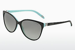 solbrille Tiffany TF4089B 80553C - Sort, Blå