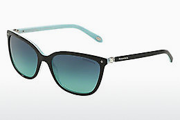 solbrille Tiffany TF4105HB 81939S - Sort, Brun, Havanna, Blå