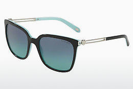 solbrille Tiffany TF4138 80559S - Sort, Blå