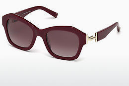 solbrille Tod's TO0195 69T - Burgunder, Bordeaux, Shiny