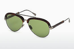 solbrille Tod's TO0211 53N - Gul, Brun, Havanna