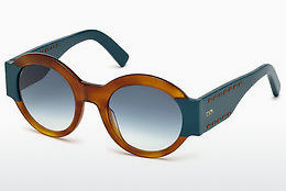 solbrille Tod's TO0212 53W - Gul, Brun, Havanna
