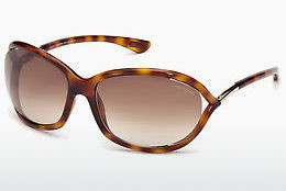 solbrille Tom Ford Jennifer (FT0008 52F) - Brun, Dark, Havana