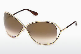 solbrille Tom Ford Miranda (FT0130 28G) - Gull
