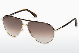 solbrille Tom Ford Cole (FT0285 52K) - Brun, Dark, Havana