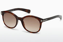 solbrille Tom Ford Riley (FT0298 52F) - Brun, Dark, Havana