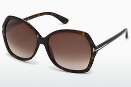 solbrille Tom Ford Carola (FT0328 52F) - Brun, Dark, Havana