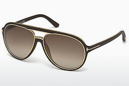 solbrille Tom Ford Sergio (FT0379 50K) - Brun, Dark