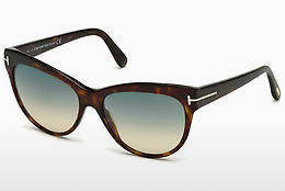solbrille Tom Ford Lily (FT0430 52P) - Brun, Dark, Havana