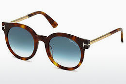 solbrille Tom Ford Janina (FT0435 52P) - Brun, Dark, Havana