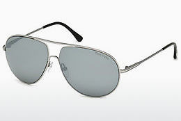 solbrille Tom Ford Cliff (FT0450 14C) - Grå, Shiny, Bright