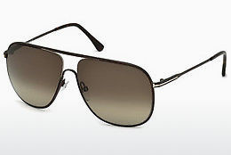 solbrille Tom Ford Dominic (FT0451 49K) - Brun, Dark, Matt