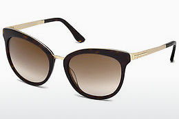solbrille Tom Ford Emma (FT0461 52G) - Brun, Dark, Havana