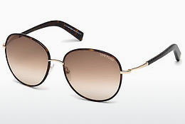 solbrille Tom Ford Georgia (FT0498 52F) - Brun, Dark, Havana