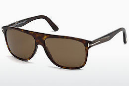 solbrille Tom Ford Inigo (FT0501 52E) - Brun, Dark, Havana