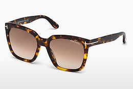 solbrille Tom Ford Amarra (FT0502 52F) - Brun, Dark, Havana