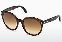 solbrille Tom Ford Philippa (FT0503 52F) - Brun, Dark, Havana