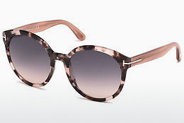 solbrille Tom Ford Philippa (FT0503 56B) - Havanna