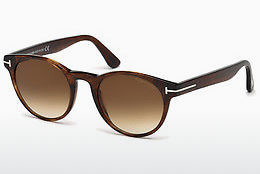 solbrille Tom Ford Palmer (FT0522 48F) - Brun, Dark, Shiny
