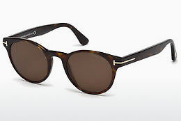 solbrille Tom Ford Palmer (FT0522 52E) - Brun, Dark, Havana
