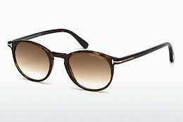 solbrille Tom Ford Andrea (FT0539 52F) - Brun, Dark, Havana
