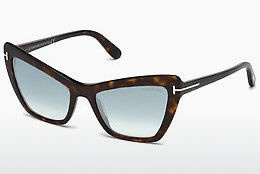 solbrille Tom Ford Valesca (FT0555 52X) - Brun, Dark, Havana