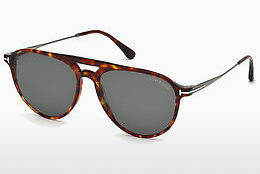 solbrille Tom Ford FT0587 54N - Havanna, Red