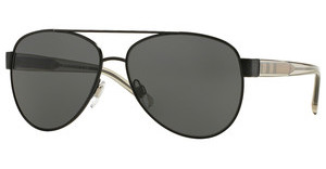 Burberry BE3084 100787 GRAYMATTE BLACK