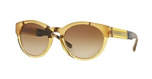 Burberry BE4205 356213 BROWN GRADIENTTOP LIGHT HORN ON YELLOW