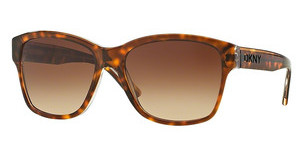 DKNY DY4134 368713 DARK BROWN GRADIENTDARK TORTOISE CRYSTAL