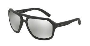 Dolce & Gabbana DG2146 12676G LIGHT GREY MIRROR SILVERGREY RUBBER