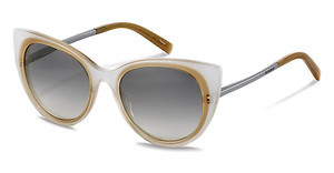 Jil Sander J0001 B sun protect - smokx grey gradient - 68%white brown