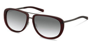 Jil Sander J1002 B sun protect - smokx grey gradient - 68%dark red