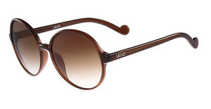 Liu Jo LJ633S 210 BROWN W-GOLD GLITTER